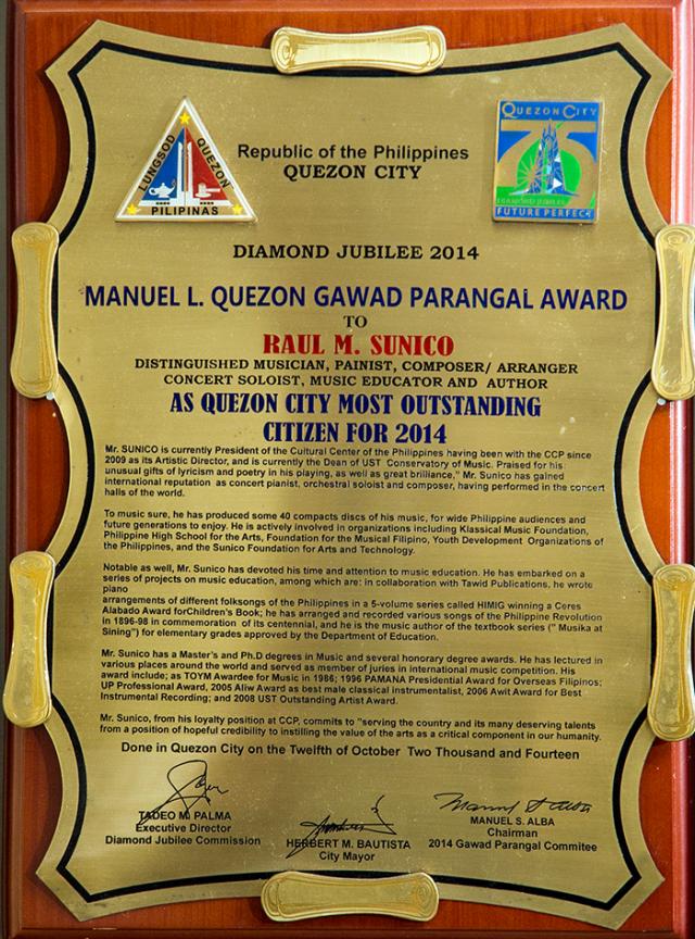 Gawad-Parangal-Award