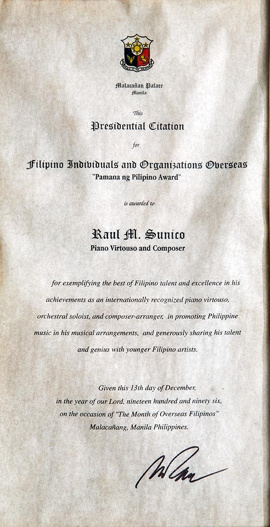 Pamana-Award